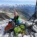 Eugen dokumentiert die Geschwindigkeit unserer Besteigung