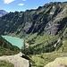 Il Lago d'Agaro dall'Alpe Biolca