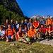 Mt. Hekurave Bergsteigerteam von 27. August 2017, darunter auch einige Einheimische