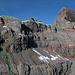 Grün die Route vom letzten Mal. Rot unsere heutige Route. Und Cyan unser Ausflug auf der Suche nach einem direkteren Aufstieg. (Besser sichtbar in [http://f.hikr.org/files/2469529.jpg Originalgrösse])