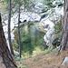Una delle meravigliose pozze lungo il torrente.....