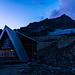 Sidelenhütte - eine angenehme Bleibe. Blick zum Galenstock im HIntergrund