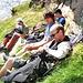 Entspannte Gipfelstürmer