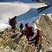 Auf dem Gipfel des Nadelhorns auf 4327m