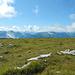 Blick nach Süden zur Alviergruppe und den Churfirsten