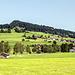 Rückfahrt nach Hindelang. Übersichtsblick auf den Rottachbergkamm und rettenberg.