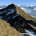 Rückblick zum Gipfel des Rothornes.