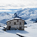 Bei der Bergstation Schwarzsee mit Blick zum Gornergrat und Monte Rosa