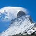 Die Wolke am Matterhorn ist laufend in Bewegung