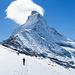 [u Aichen] und Matterhorn, schon wieder mit Hut