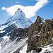Felsstufe unweit vom P.2870 und Matterhorn