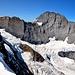 Eiger SE-Wand und die Berglihütte fast in Bildmitte