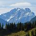 der Mürtschenstock, ein gewaltiger Berg.