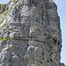 Klettersteiggeher am Hinteren Eggstock. Besser in Originalgrösse zu erkennen.