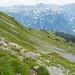 Es folgt ein einfacher Abstieg zur Bergstation Gumen