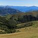 Sicht auf die italienische Seite des Monte Generoso.