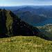 Panorama im Abstieg zur Bergstation.
