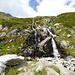 dieser Wasserfall wird im oberen Tag gequert