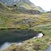 Teich bei der Hütte