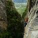 wer keine Luft unter seinen Schläpppchen mag, der wird diesen Klettersteig eher nicht mögen