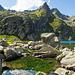 Wilde Landschaft am Lago di Morghirolo