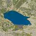 Tiefblick zum Lago di Morghirolo