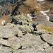 Abstieg vom Pizzo Croslina über den Ostgrat