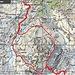 Route auf Karte