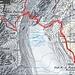 Route auf Karte, genauer