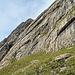 eine typische Alpsteinwand