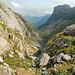 Rückblick über das Tal bis zum Berggasthaus Mesmer