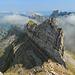 herrlicher Blick zum Wagenlückenspitz und über den halben Alpstein.