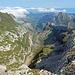 Rückblick über den Ostgat und weite Teile vom Alpstein, einfach wunderbar!!