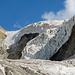 Auch ein schöner Eisbruch: Zwischen Piz Cambrena und Piz d'Arlas