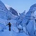 Im spektakulären Eisbruch