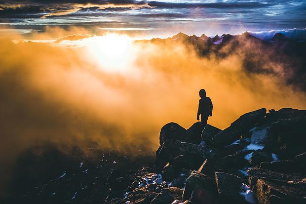 Solche Momente sind es, weshalb ich in die Berge gehe