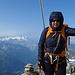 Die Berner Oberländer Gipfelkette - Wetterhorn, Eiger, Mönch, Jungfrau, Finsteraarhorn etc.