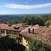 über den Dächern von Sagno schweift der Blick Richtung Varese