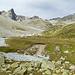 Sur la Crappa und der zu überschreiten Gletscherbach.