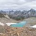 Namloser See auf 2970m mit links Piz Chembels, rechts Crasta Jentasch.