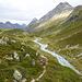 Noch immer auf der unmarkierter Weg, jetzt fast bei Tegia d'Val.