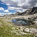 See auf 2666m. Mit die dunkele Wolken auch schön.