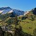 Blick über Malbun hinweg zum Augstenberg