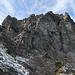 der Stachlerkopf von Norden her eine gewaltige Felswand.