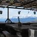 auf der Hütte San Lucio (auf Schweizer Seite)