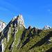 Sicht über den Stosssattel zum Säntis