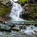 Der Wasserfall (Ist als Wegpunkt markiert)