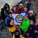 Gemeinsames Gruppenfoto von Prizren auf dem Gipfel des Gjeravica