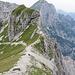 Blick in die abgelegenen und unbekannten Seitentäler der italienischen Julischen Alpen.