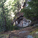 Au sommet de la raide montée du Laubertschugge